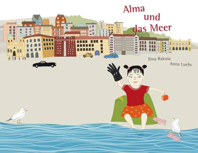 """Cover """"Alma und das Meer"""""""