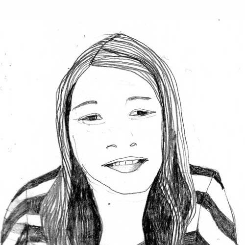 Porträt Zeichnung