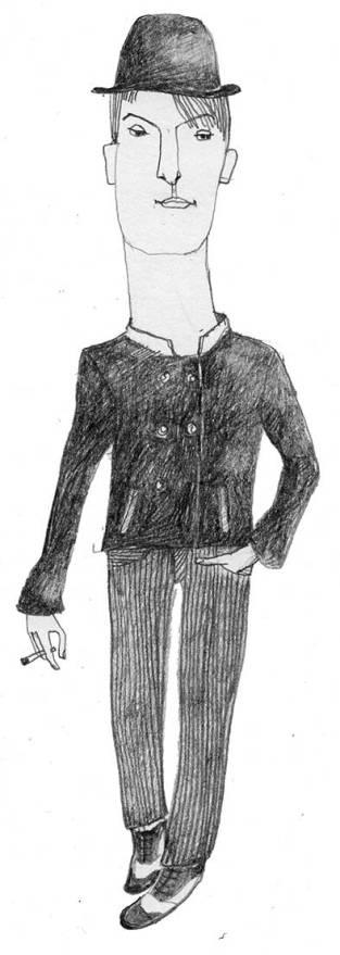 Giovanni, Zeichnung, Illustration, Figur