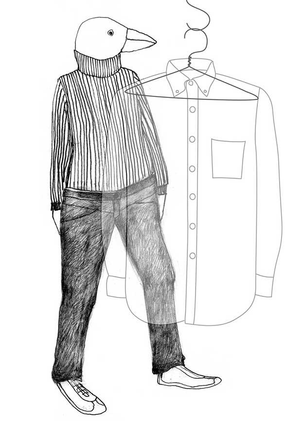 Figur und Hemd, Resonanz - Gestalten von Organisationen in flüchtigen Zeiten