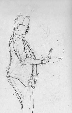 Dirigent, Skizzenbuch