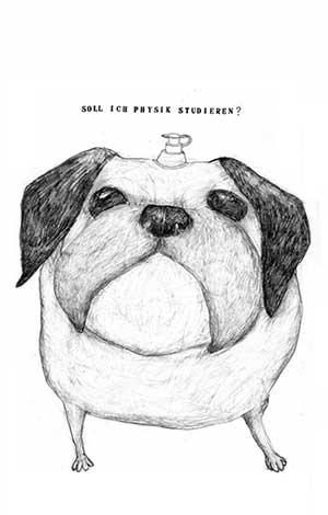 Illustration, Hund
