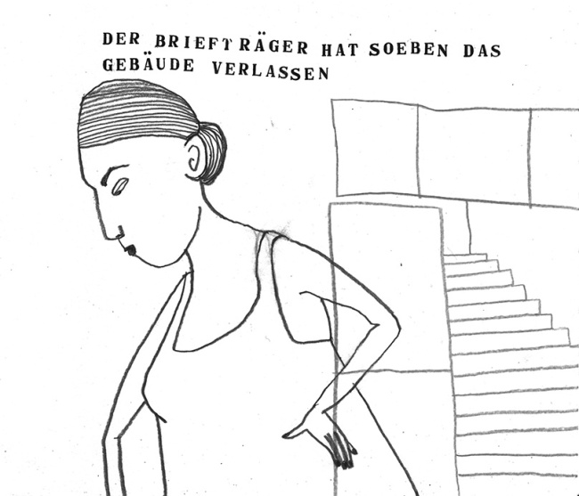 Frau, Illustration