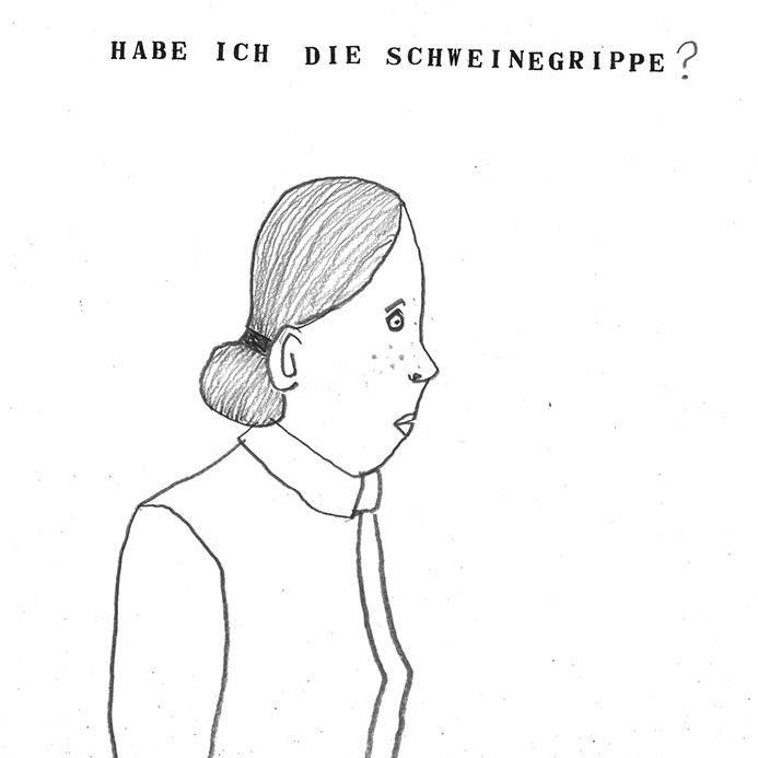 Frau, Illustration