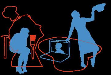 Illustration Menschen