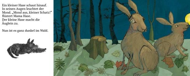 Illustration, Hase und Haeschen