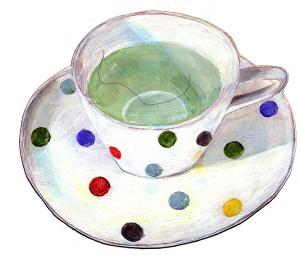 Ein Haar in der Teetasse
