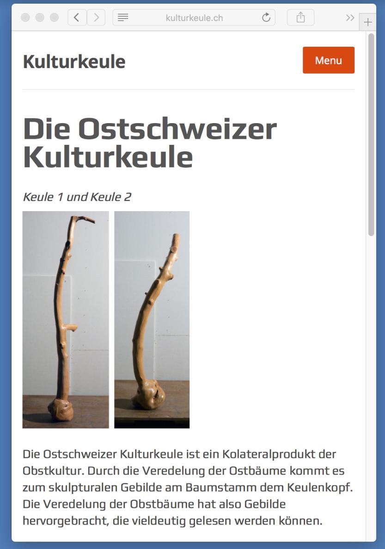 Kulturkeule - Christoph Rüthimann