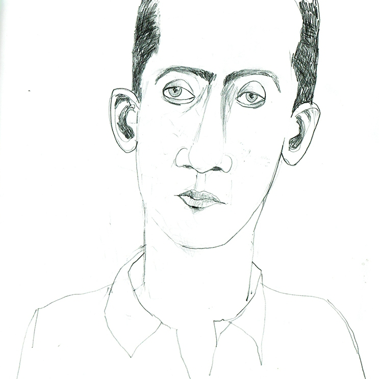 Skizze Porträt