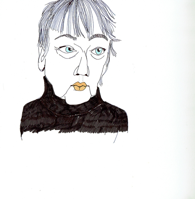 Illustration, Skizze, Porträt