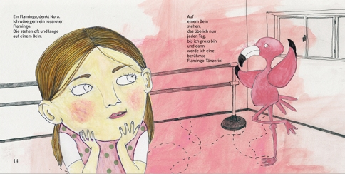 "Illustration Kinderbuch ""Ach Nora"""