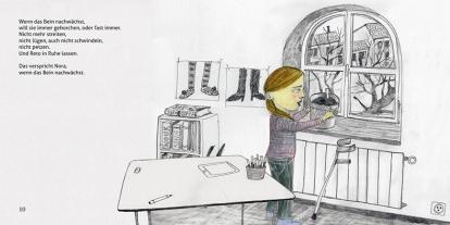 "Illustration Kinderbuch ""Ach Nora"""