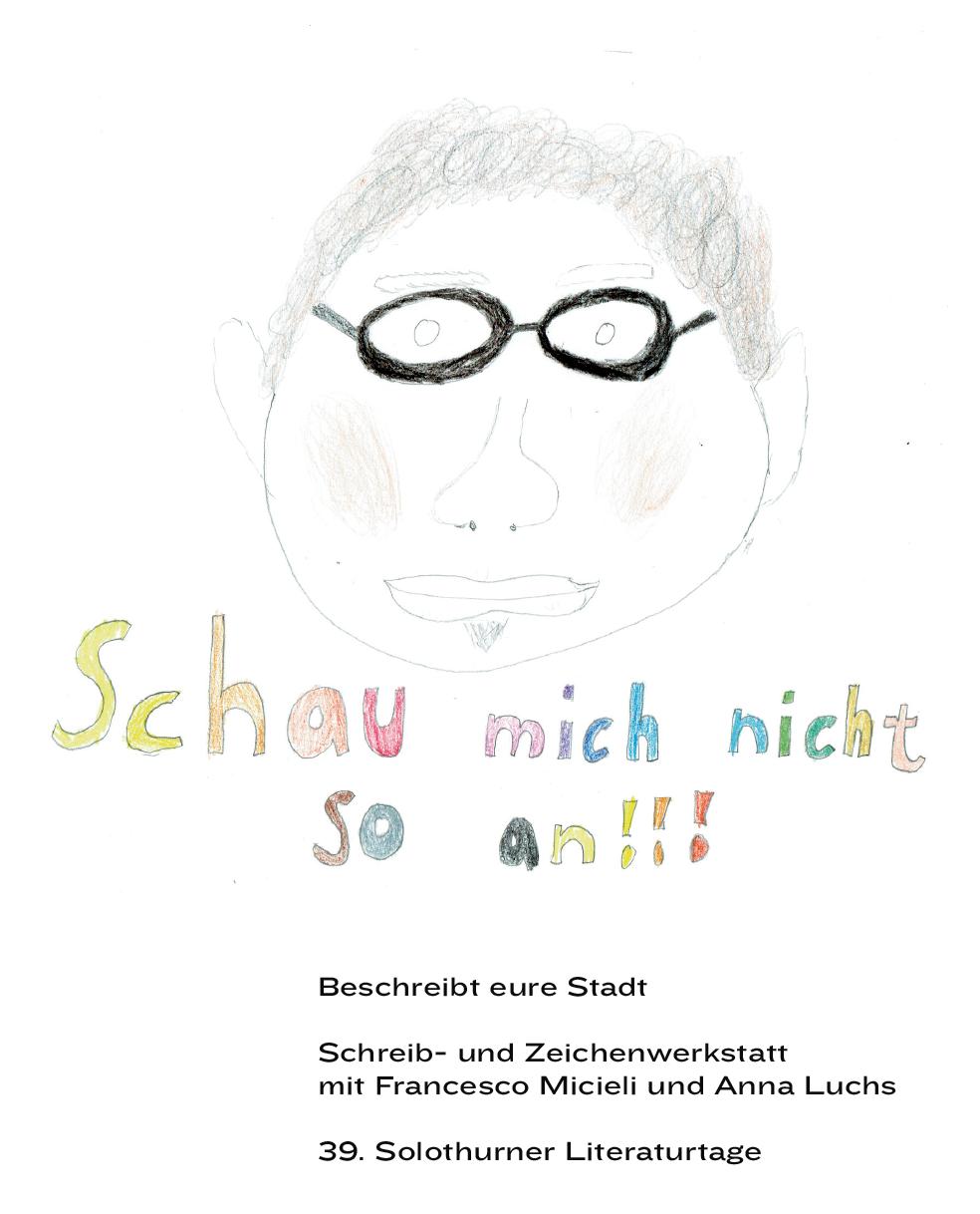 Kinderzeichnung, Porträt