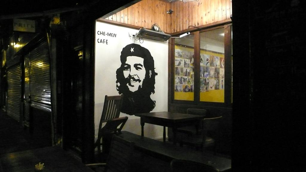 Che, Wandbild in London