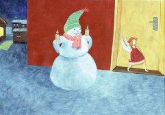 Illustration Lina und der Weihnachtsstern
