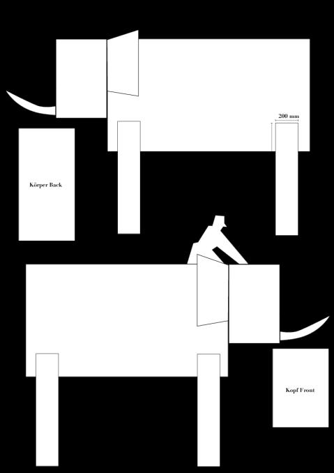 Elefant Zeichnung