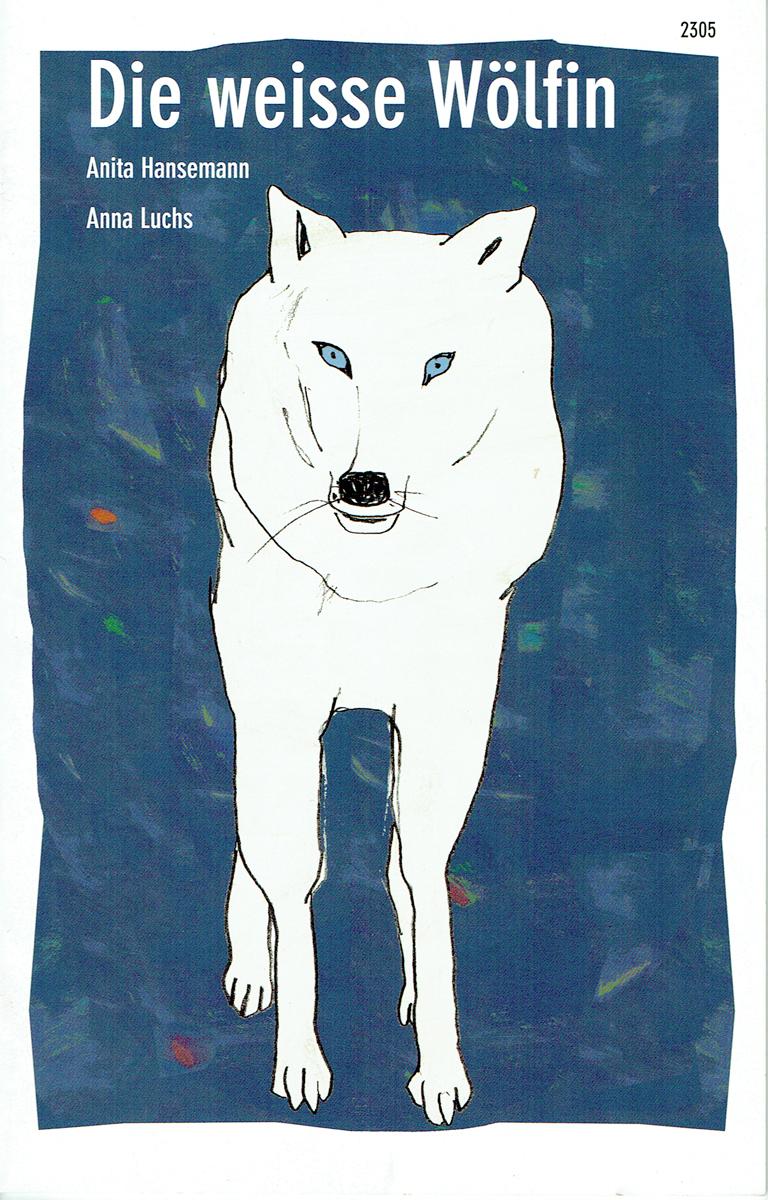 Die weisse Wölfin